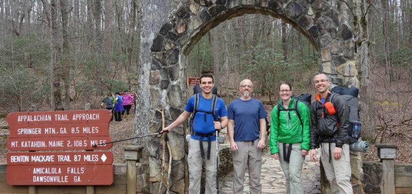 Appalachian Trail 2014: Der Zustieg