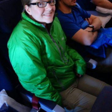 Katerina Im Flugzeug