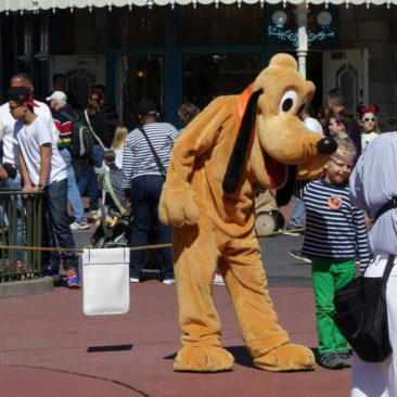 Pluto in Action