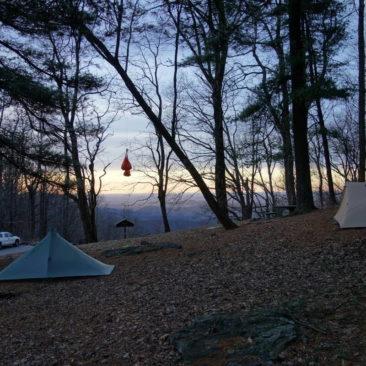 Sonnenaufgang bei Woody Gap