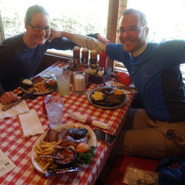 Unser Essen bei Benetts Barbeque
