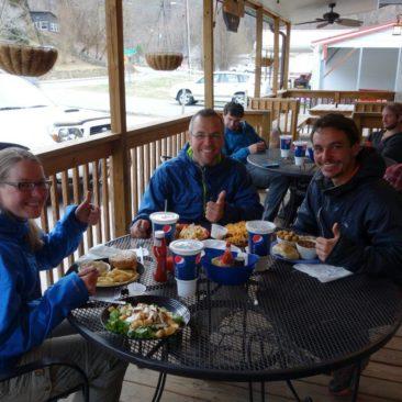 Unser Essen im Smocky Mountain Diner