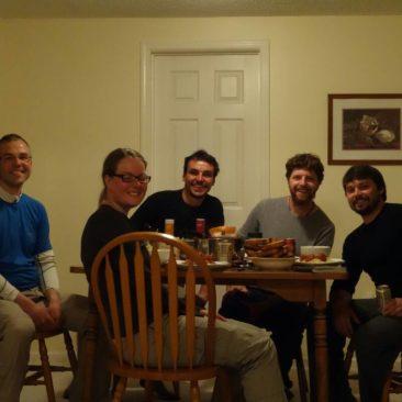 Abendessen mit Greg und Kirk