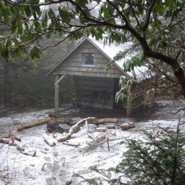 Die Roman Mountain Shelter - komplett geschlossen