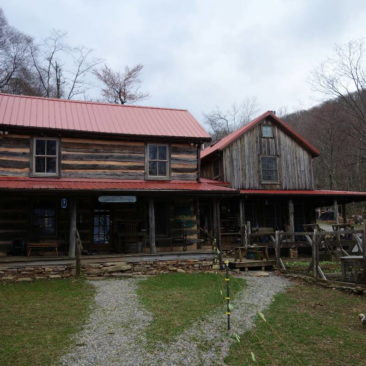 Das Woodshole Hostel Haupthaus