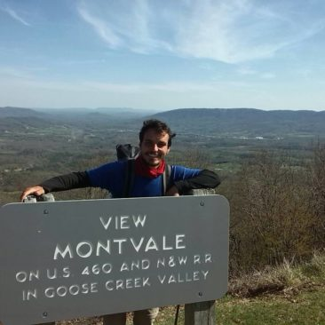Aussicht von Mnt Montvale