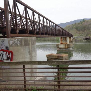 Die längste Fußgängerbrücke auf dem Appalachian Trail