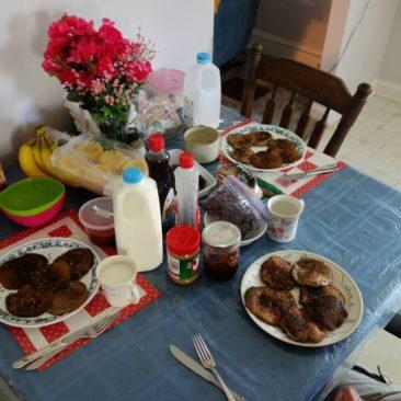 Frühstück bei Rachel