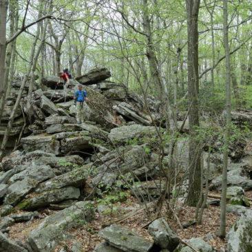 Nord-Pennsylvania: Steine überall!