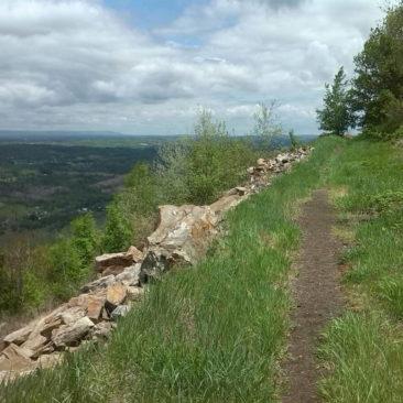 Trail mit Ausblick in der Nähe von Palmerton