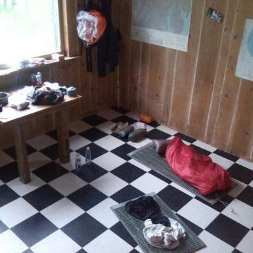 Die Murray Cabin von innen