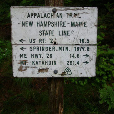 Die Grenze nach Maine