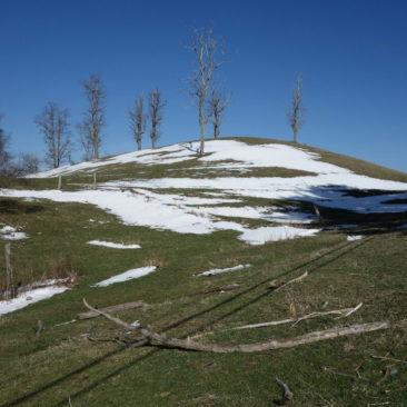 Altschnee von gestern - die Bedingungen wechseln schnell