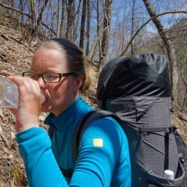 Trinken ist wichtig auf dem Trail!