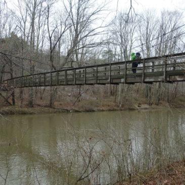 Größere Flüsse werden in Virginia meist per Brücken überwunden