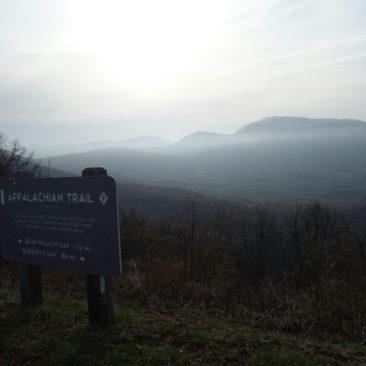 Morgenstimmung auf dem Blue Ridge Parkway