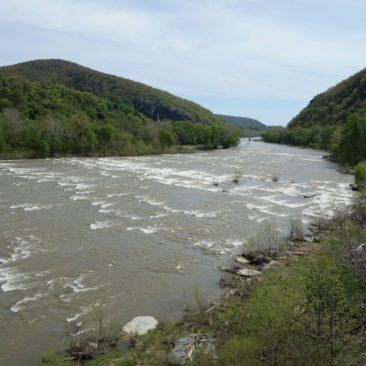 Ausblick auf den Shenandoah River.