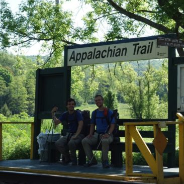 Appalachian Trail Bahnstation mit Anbindung an New York City
