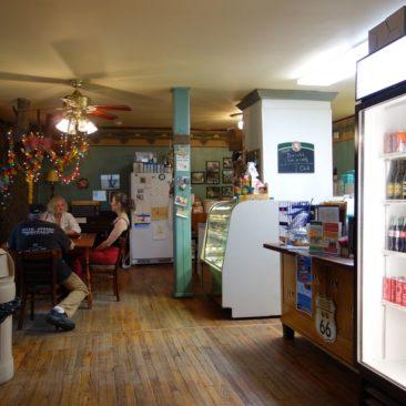Das sehr empfehlenswerte Toymakers Cafe in Falls Village