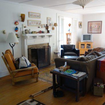 Das gemütliche Wohnzimmer bei Jessi
