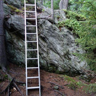 Wieder mal eine Leiter