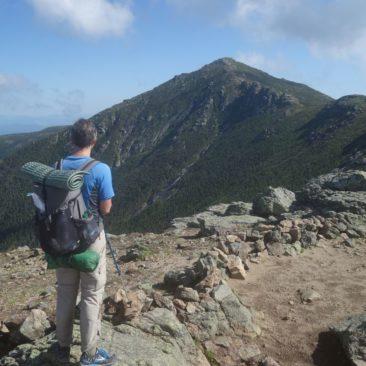 Auf der schönen Franconia Ridge