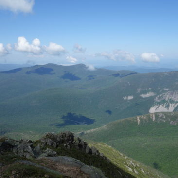 Ausblick in den White Mountains in New Hampshire