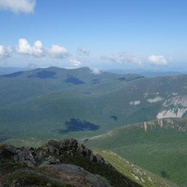 Solche Ausblicke wie hier in den White Mountains in New Hampshire gab es selten, aber es gibt sie