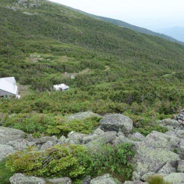 Aufstieg zu Mount Madison