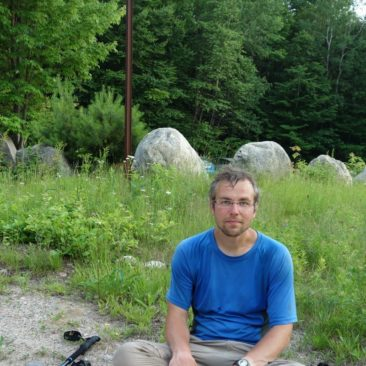 Geschafft nach mehr als 21 Meilen in den White Mountains an einem Tag