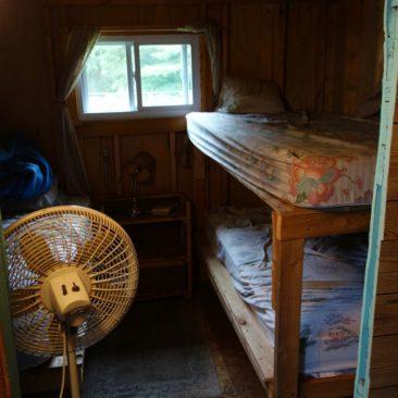 Der Schlafsaal im Pine Ellis Hostel in Andover