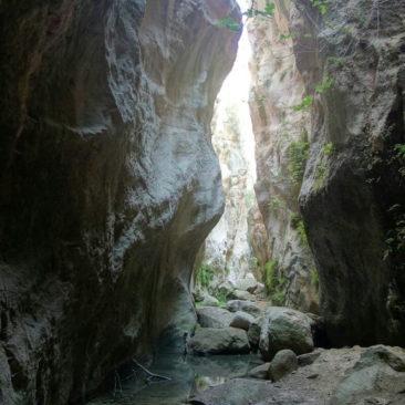 Über Jahrhunderte aus dem Fels gegraben - Avakas-Schlucht