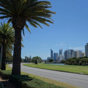 Australien: Ankunft in Perth