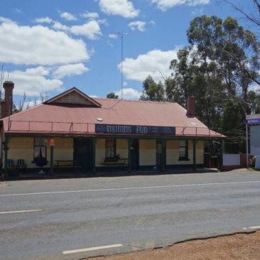 Die leider geschlossene Mumballup Tavern