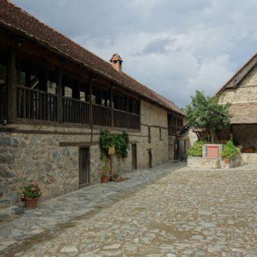Das Kloster in Kalopanayiotis