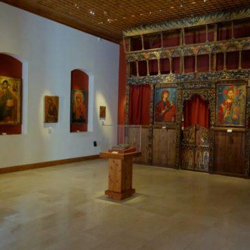 Das Ikonenmuseum im Kloster