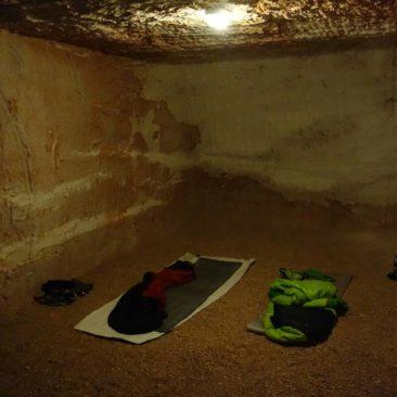Campen unter der Erde in Coober Pedy