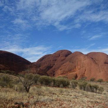 Die Felsen im Kata Tjuta Gebiet