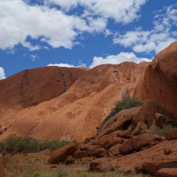 Der Mala-Wanderweg am Uluru