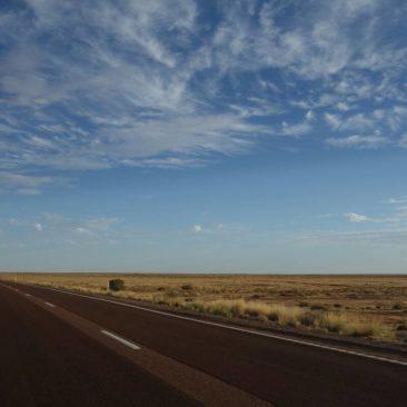 Unendliche Weite in der Mitte Australiens