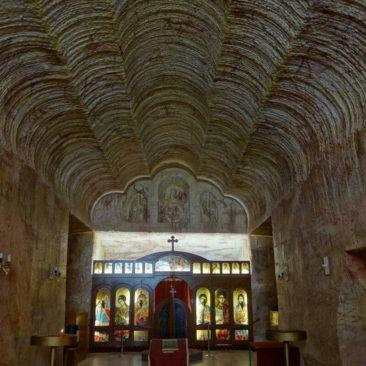 Unterirdische serbisch-orthodoxe Kirche in Coober Pedy