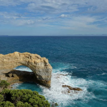Die Felsformation The Arch entlang der Great Ocean Road