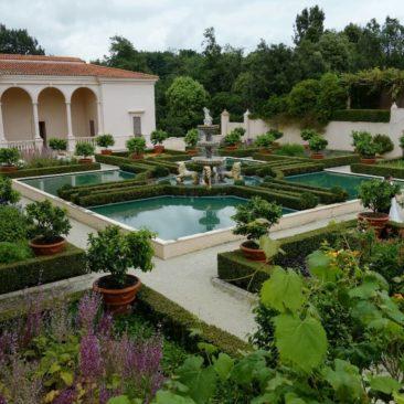 Der italienische Garten in den Hamilton Gardens