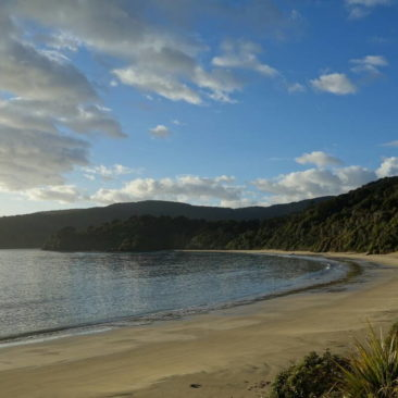 Die Bucht an der Bungaree Hut