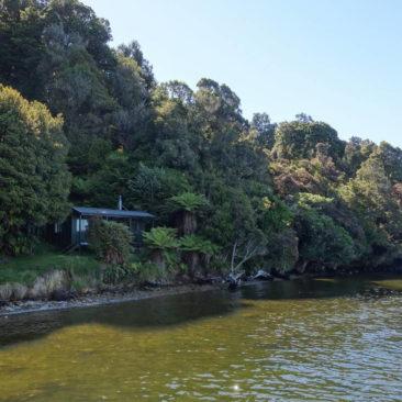 Meine Lieblingshütte auf Stewart Island: Fred's Camp Hut