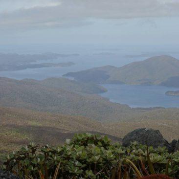 Weiter Ausblick von Mount Rakeahua