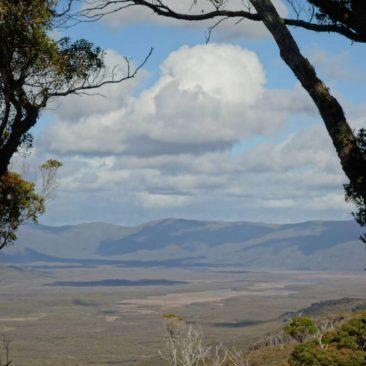 Ausblick auf das Freshwater Valley