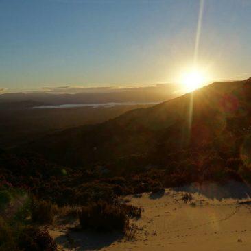 Sonnenaufgang über dem Freshwater Valley