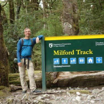 Schild Milford Track