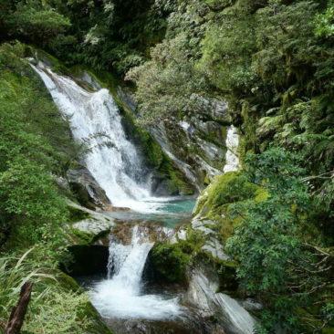 Ein Teil der sehr schönen Anderson Cascades